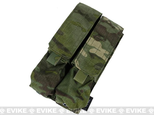 TMC SMG MP7A1 Double Magazine MOLLE Pouch - Multicam Tropic
