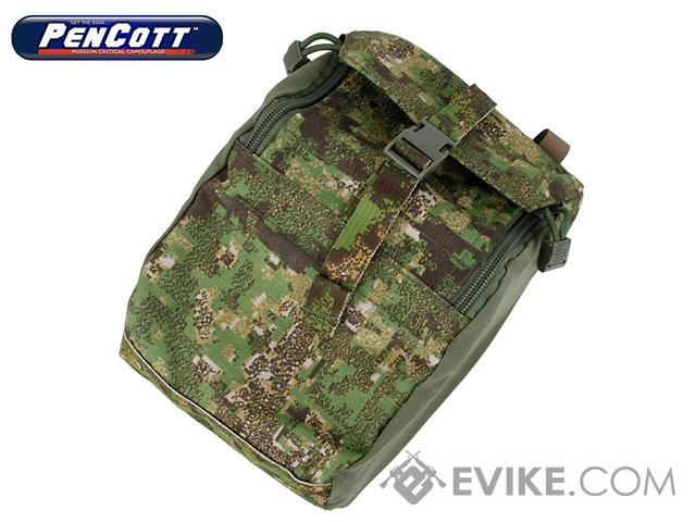 TMC 973 General Purpose MOLLE Pouch - PenCott GreenZone