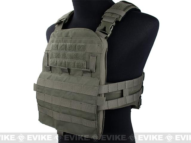 TMC Airsoft Adaptive Plate Carrier - Ranger Green