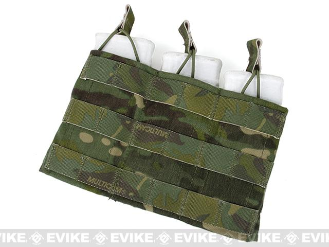TMC MOLLE Triple Wedge Magazine Pouch - Multicam Tropic