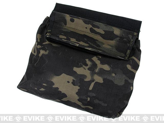 TMC Hook and Loop Roll-Up Dump Pouch - Multicam Black