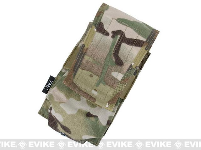 TMC Single Magazine Pouch for 417 Magazines - Multicam