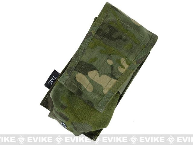 TMC Single Magazine Pouch for 417 Magazines - Multicam Tropic