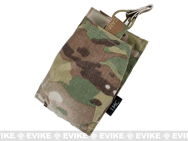 TMC Open Top Single Magazine Pouch for 417 Magazines - Multicam