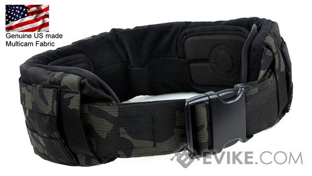 TMC Low Profile Battle Belt - Multicam Black