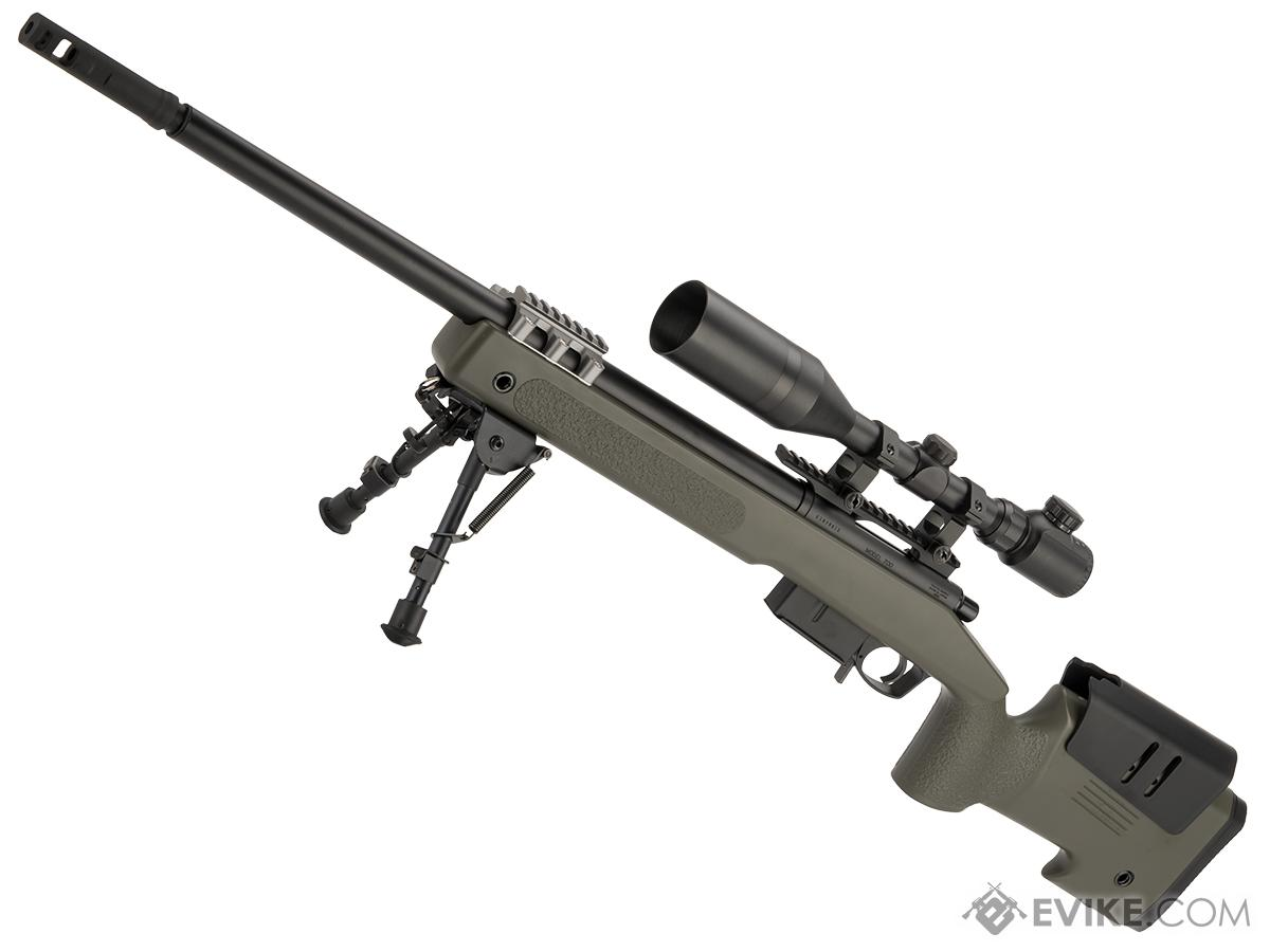 tokyo marui m40a5 bolt action airsoft sniper rifle color od green