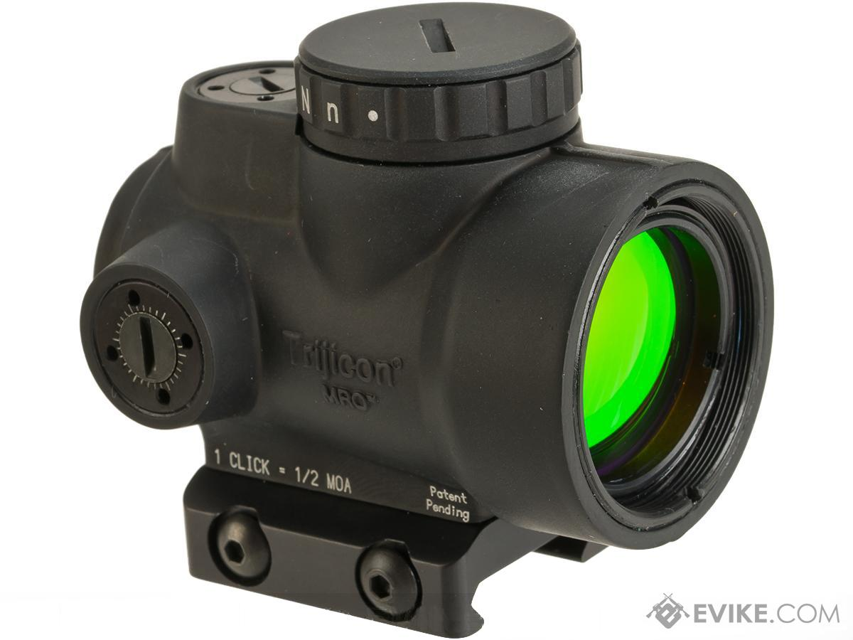 Trijicon 1x25 MRO 2.0 MOA Adjustable Red Dot with Low Mount