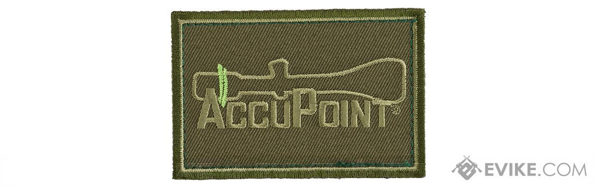 Trijicon Accupoint Hook and Loop Morale Patch - Olive