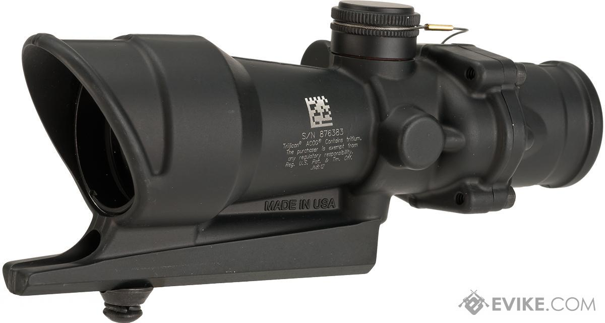 trijicon acog 4x32 illuminated scope for the m16 lapd reticle