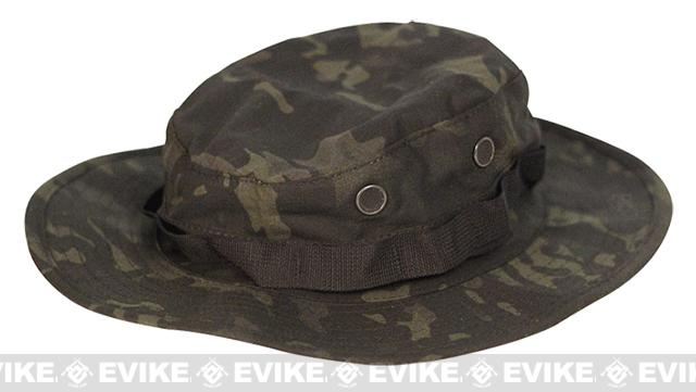 Tru-Spec Tactical Response Uniform Boonie Hat - Multicam Black (Size: 7-1/4)
