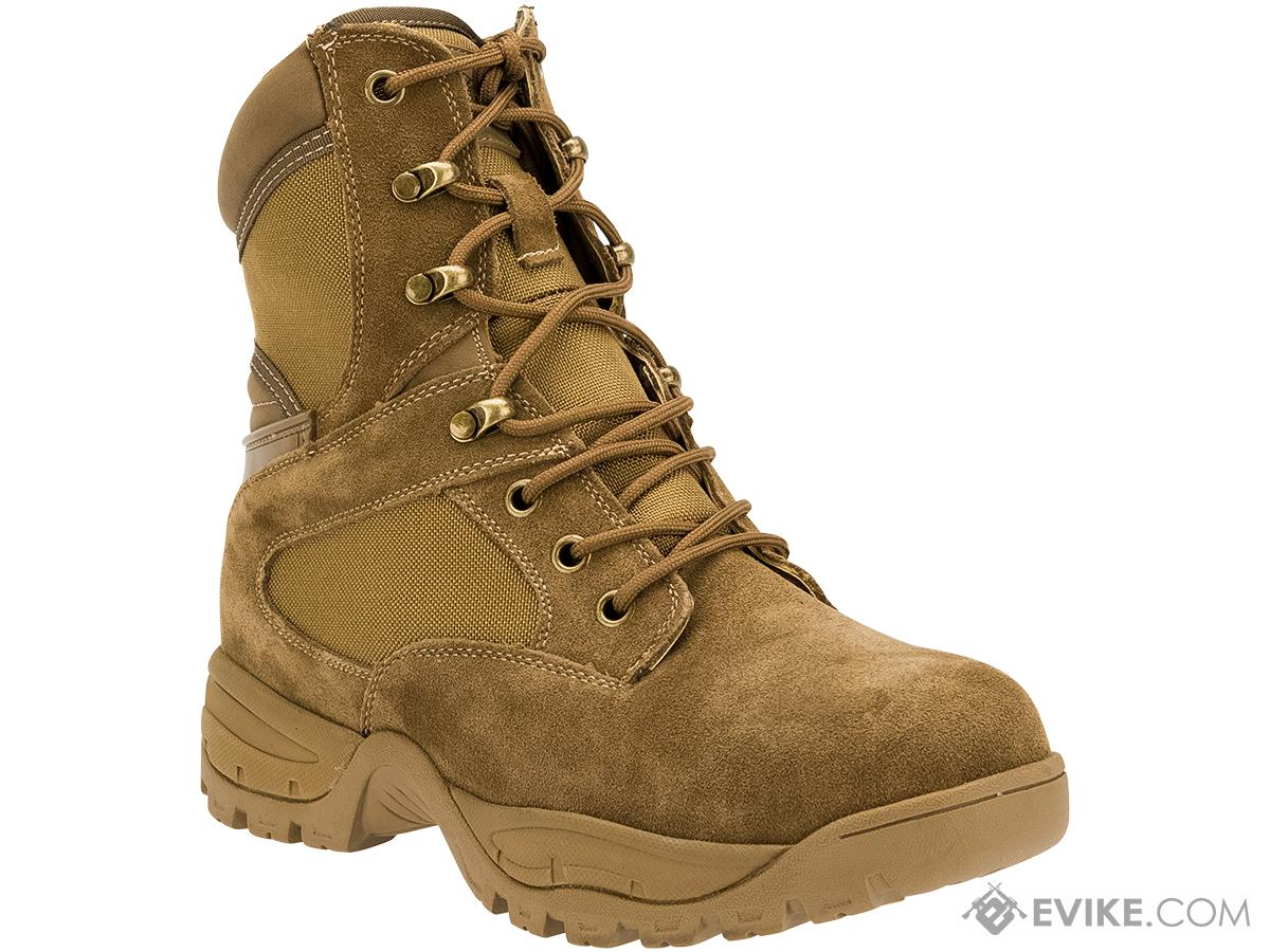 Tru-Spec Tactical Side Zipper Boots - Coyote (Size: 10)