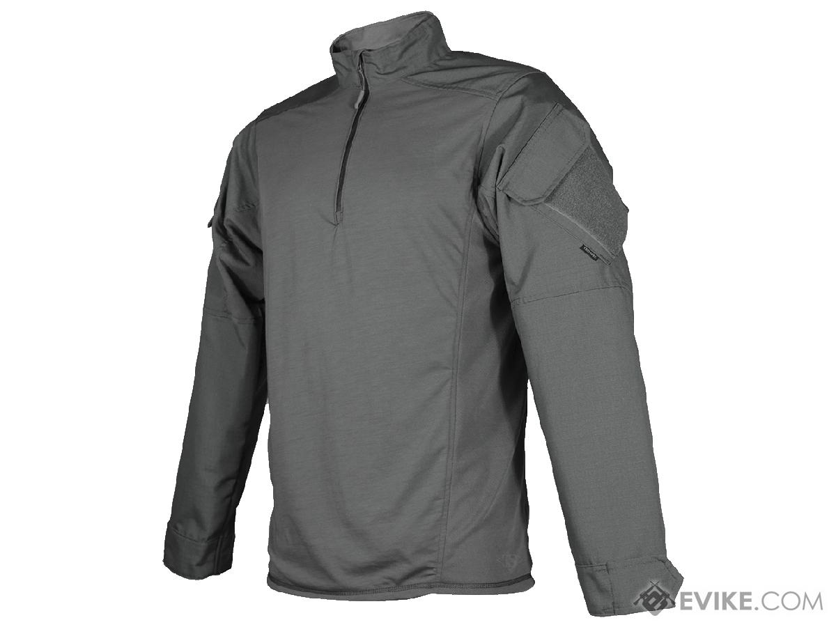 Tru-Spec Urban Force TRU 1/4 Zip Combat Shirt (Size: Urban Grey / X-Large)