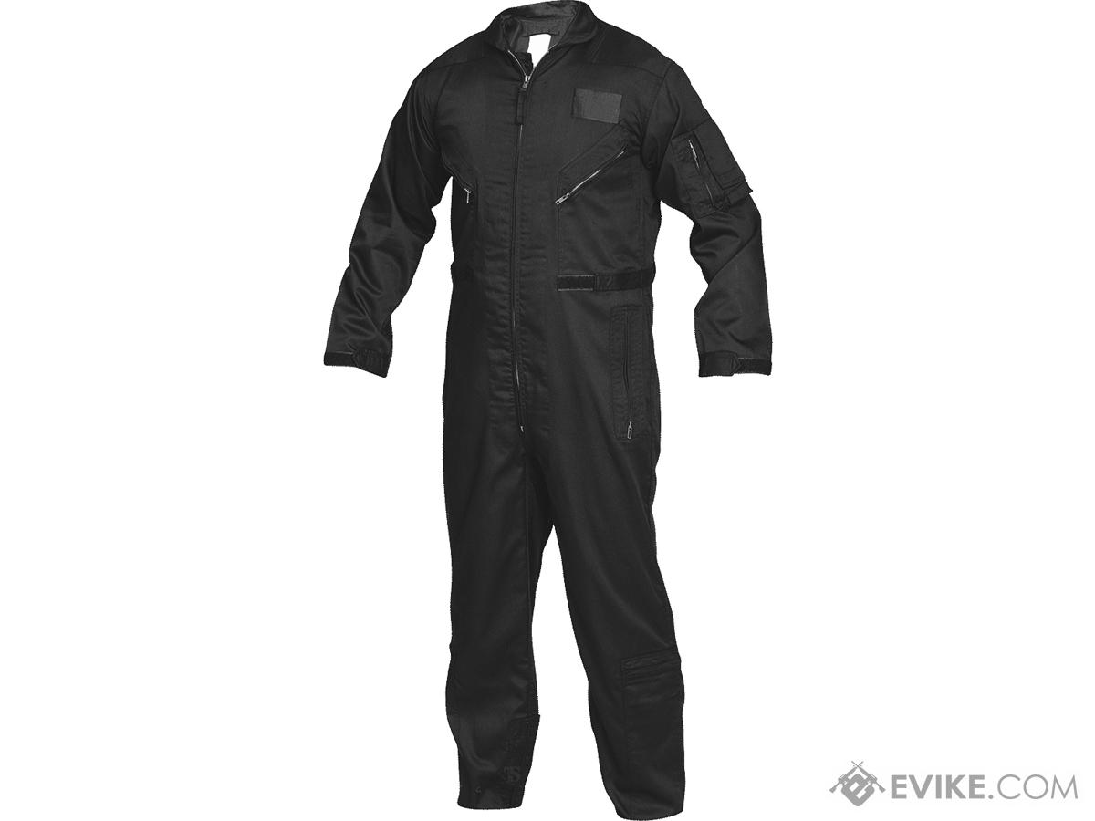 Tru-Spec 27-P Basic Poly-Cotton Flight Suit (Color: Black / 2XLarge-Regular)