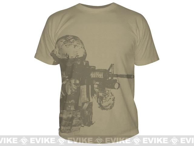 z 5.11 Tactical Watcher T-shirt - Tan / Medium