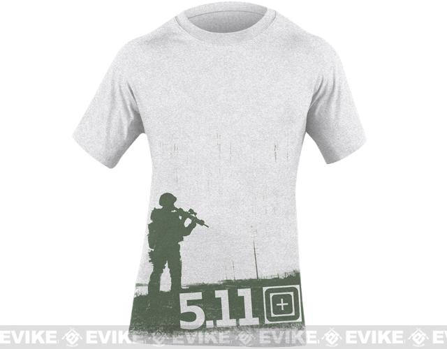 z 5.11 Tactical Taking Point Logo T-shirt - (X-Large)