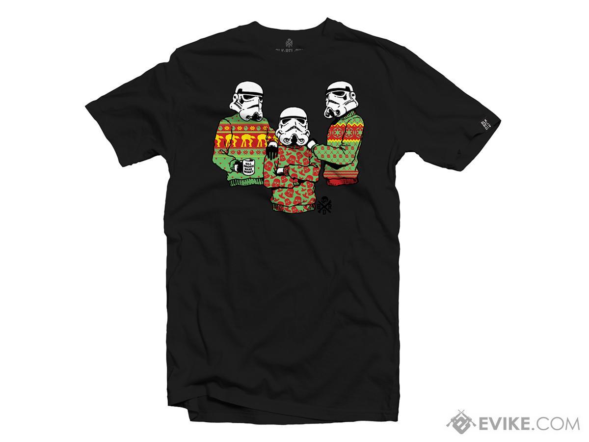 Black Rifle Division Tis the Season T-shirt - Black (Size: Small)