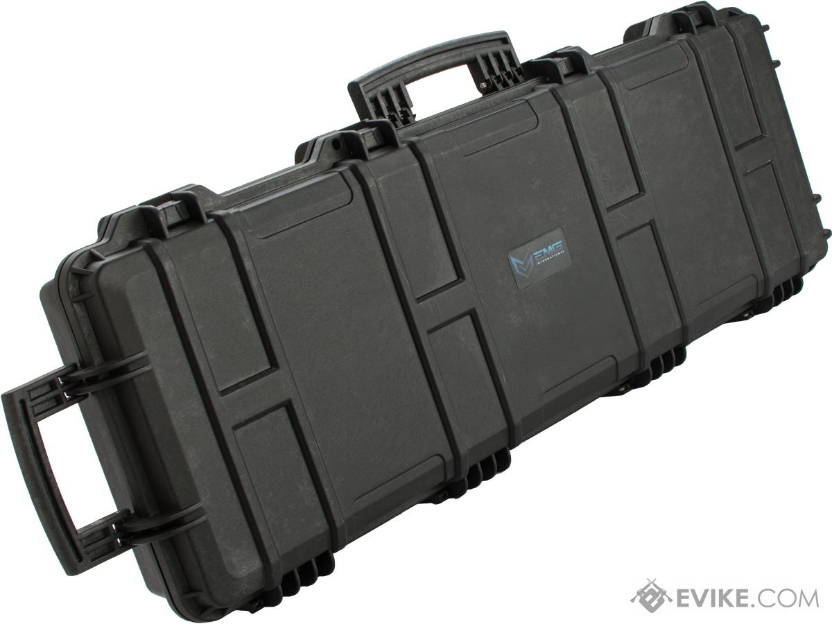 (RUDOLPH'S EPIC DEAL!!!) EMG Transporter Lockable 42 Hard Case w/ low-profile wheels & PnP foam (Color: Matte Black)