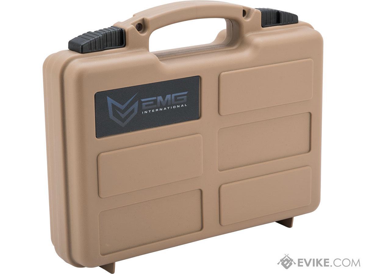 EMG Armory Series Pistol Case w/ Customizable Grid Foam (Color: Dark Earth)