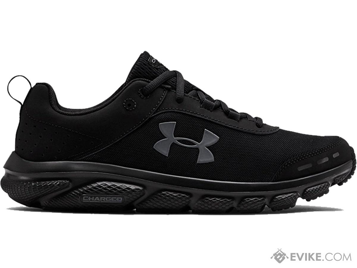 Under Armour UA Men's Charged Assert 8 Running Shoes (Color: Black / Size 10)