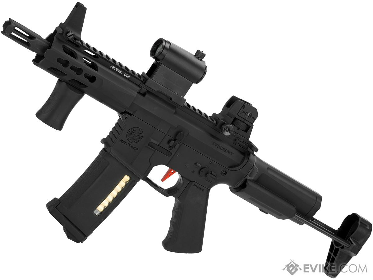 Umbrella Armory Krytac MKII PDW CQBR (Color: Black / 350 FPS 40 RPS w/  2xBattery)