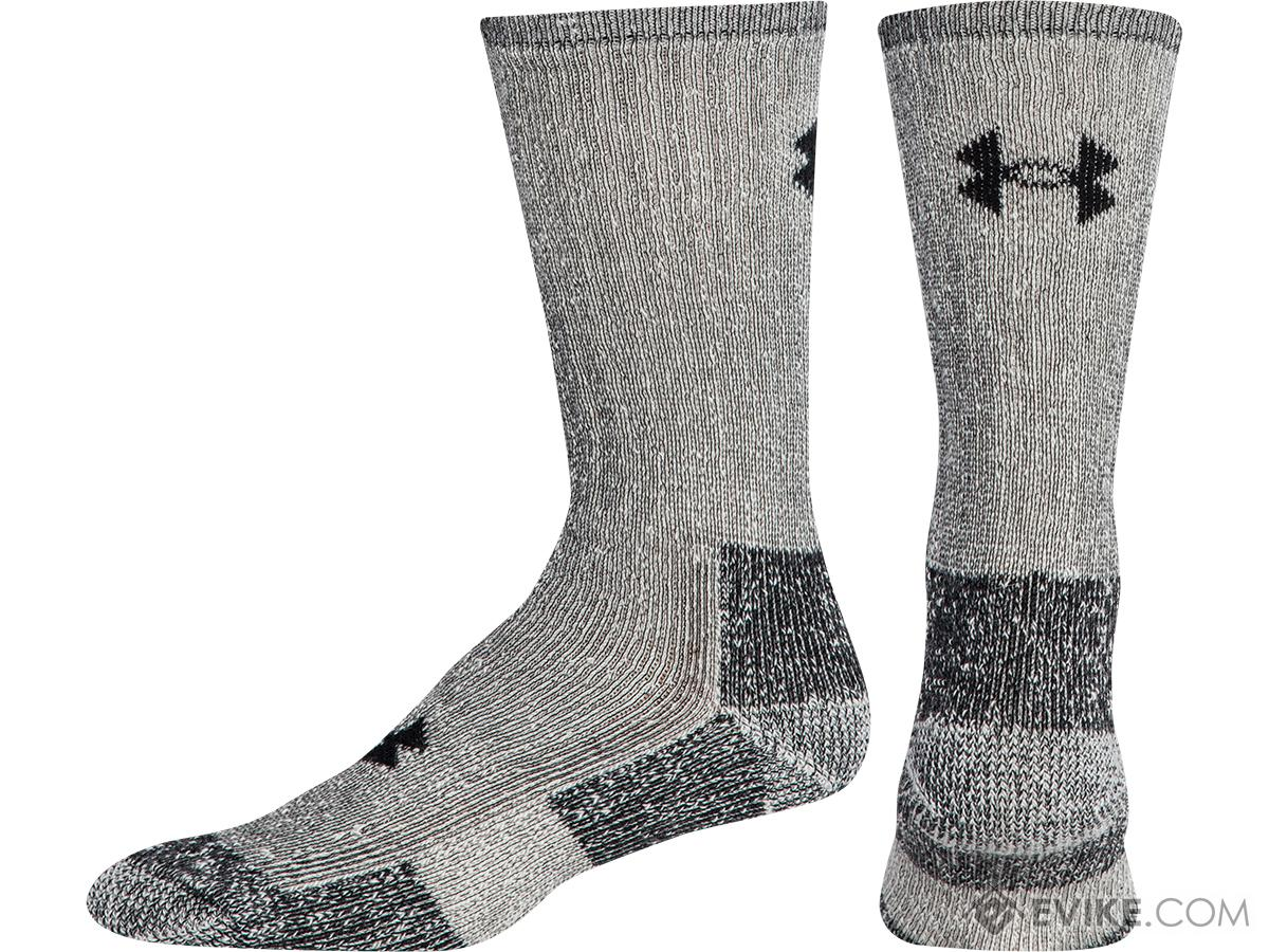Under Armour UA Ourdoor Boot Crew Sock (Color: Gray / Medium)