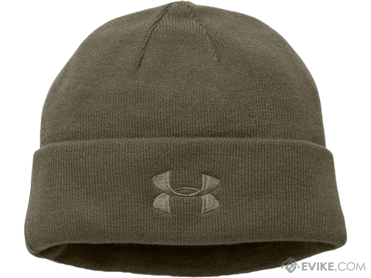 b10288010504e Under Armour Men s Tactical Stealth Beanie 2.0 (Color  OD Green). Hover or  touch above to zoom. Product image 1