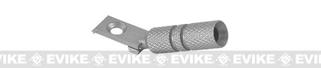 UAC Angled Cocking Handle for Hi-Capa Series Airsoft GBB - (Dull Silver)