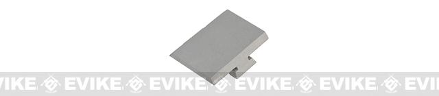 Dynamic Precision IPSC Slide Cover for Hi-Capa Series Airsoft GBB - Standard (Dull Silver)