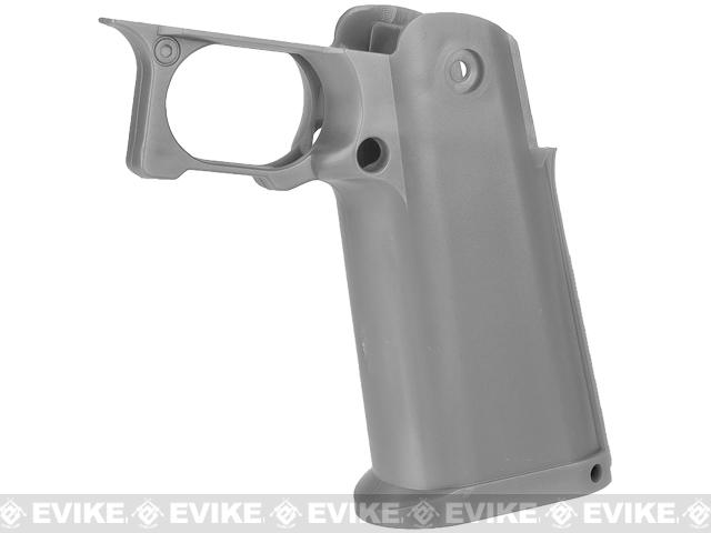 Dynamic Precision Sculptor Grip for TM / WE-Tech Hi-CAPA 5.1 Series Airsoft GBB Pistols (Color: Grey)