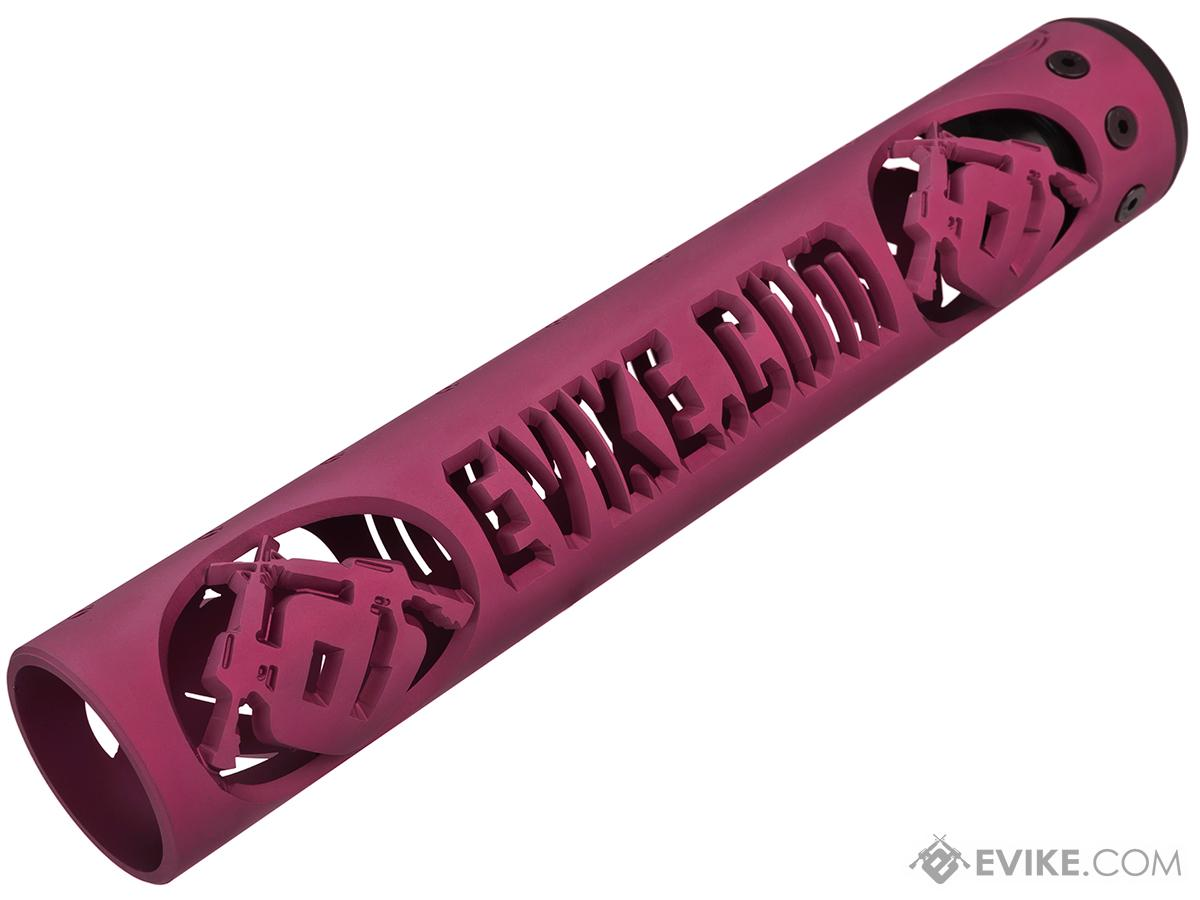 Unique ARs CNC Machined Evike.com Handguard for AR15 Pattern Rifles (Color: Pink / 12 / Rail Only)