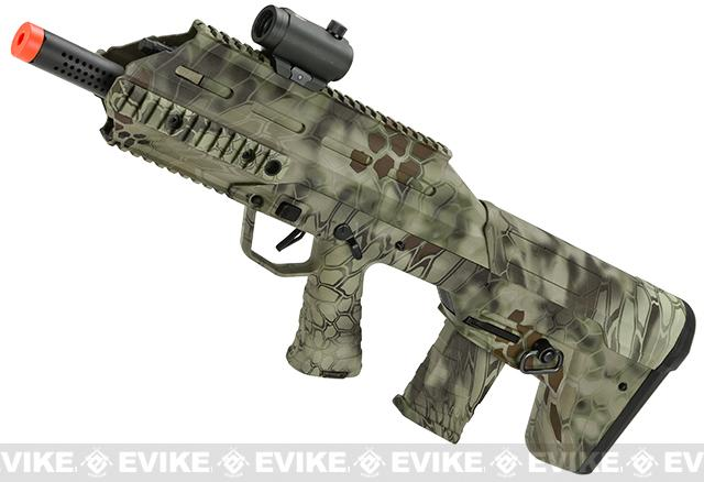 APS V.2 Full Size UAR Urban Assault Rifle Airsoft AEG w/ Metal Gear Box (Color: Kryptek Highlander)