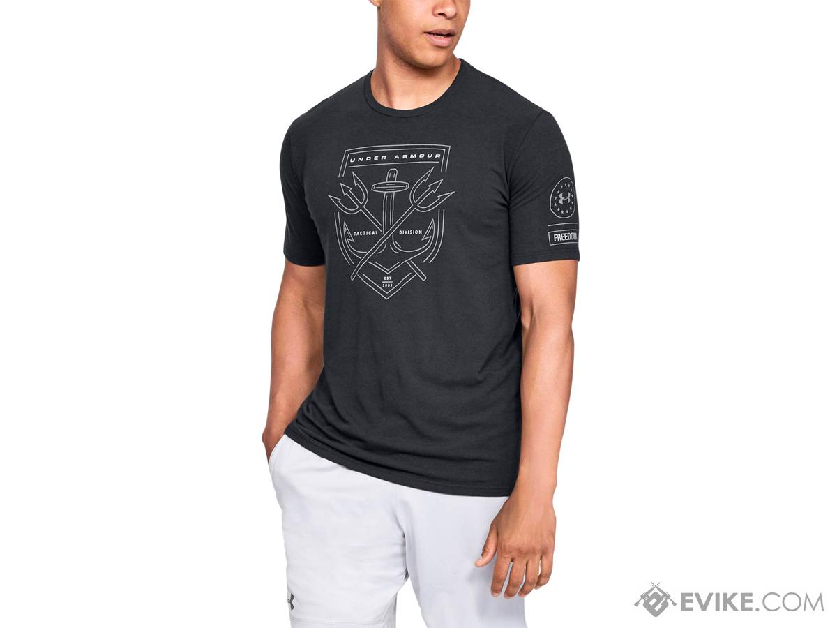 Under Armour Men's UA Tactical Division T-Shirt (Color: Black / Small)