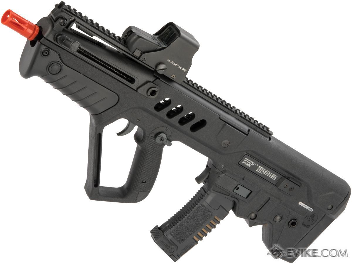 iwi tavor ctar flat top short barreled airsoft aeg with inline rh evike com M16A4 MW2 TAR-21