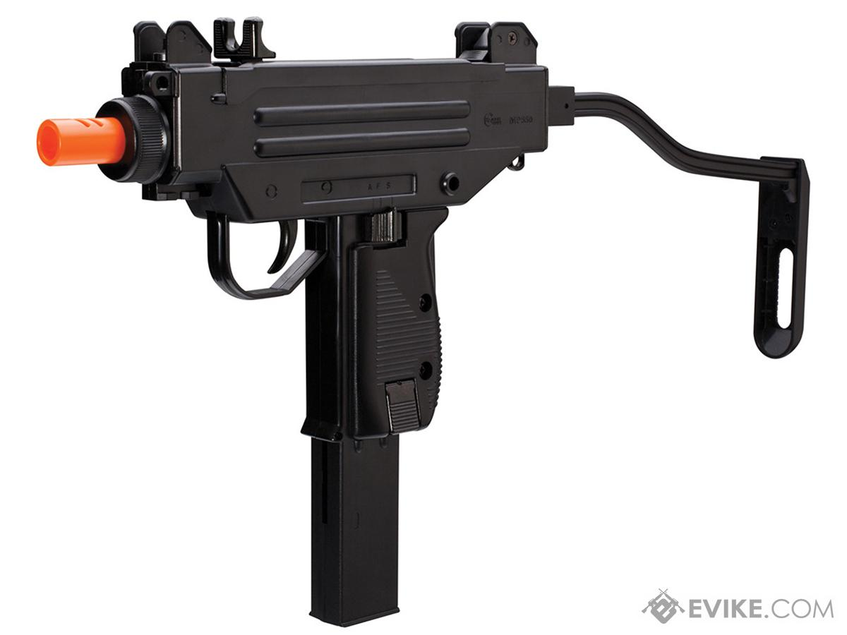 iwi licensed micro uzi spring powered airsoft pistol by