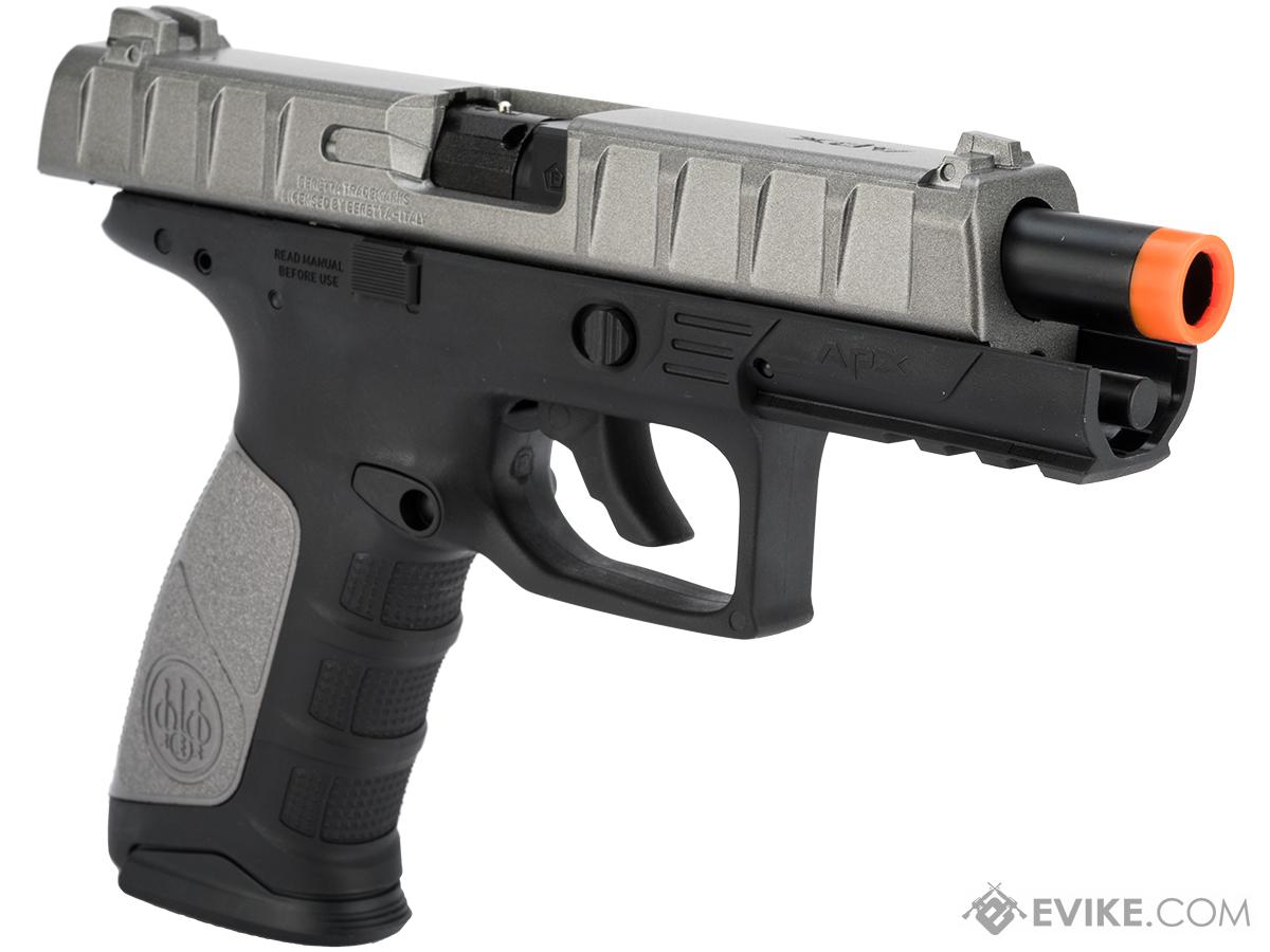 beretta apx co2 powered blowback airsoft pistol by umarex evike com