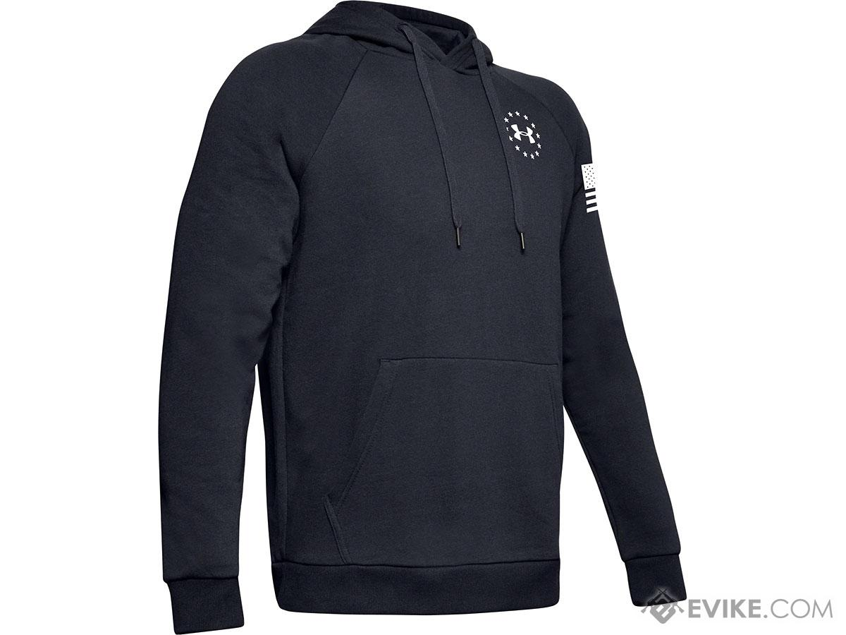 Under Armour Men's UA Freedom Rival Hoodie (Color: Black / Small)
