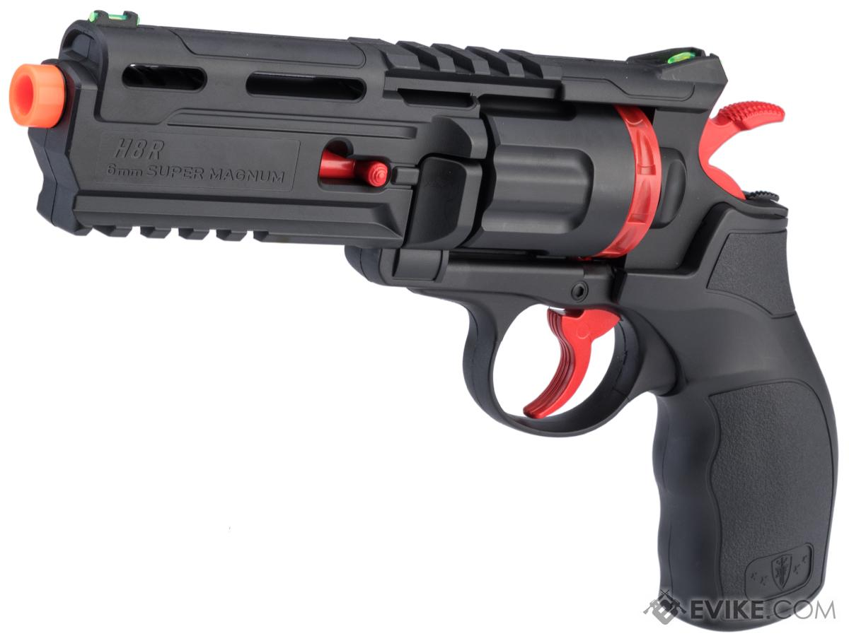 Elite Force H8R Gen 2 Limited Edition Black & Red CO2 Powered Airsoft Revolver