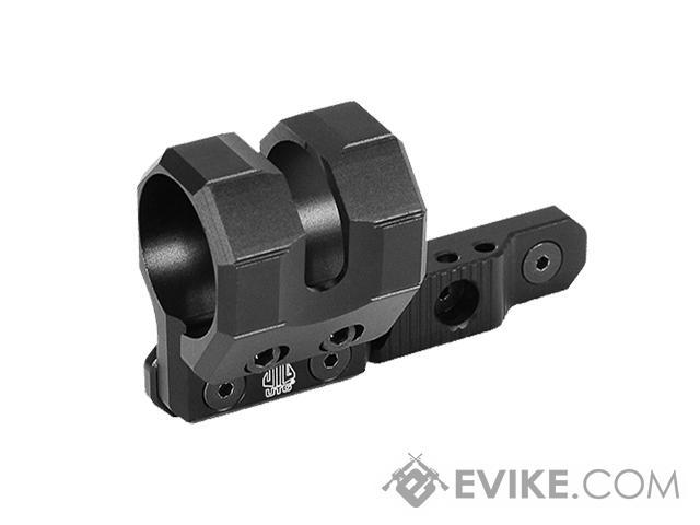 UTG M-LOK® Offset Flashlight Ring Mount (Color: Matte Black)