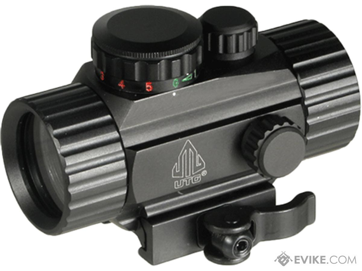 UTG 3.8 ITA Red/Green Dot Sight w/ Integral QD Mount (Type: Single Dot)