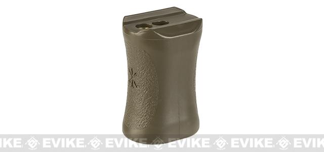 Unity Tactical Direct Mount Vertical Grip for Keymod & Tubular Hand Guards (Color: Flat Dark Earth)