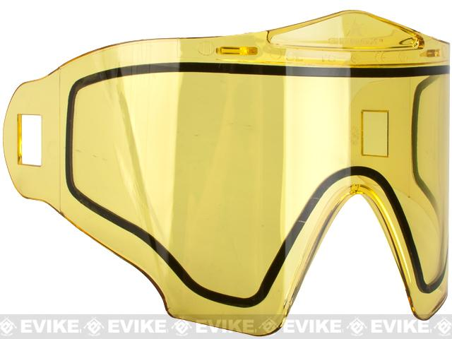 Annex Thermal Lens for Airsoft Paintball Full Face Masks (ANSI Rated) by Valken (Color: Yellow)