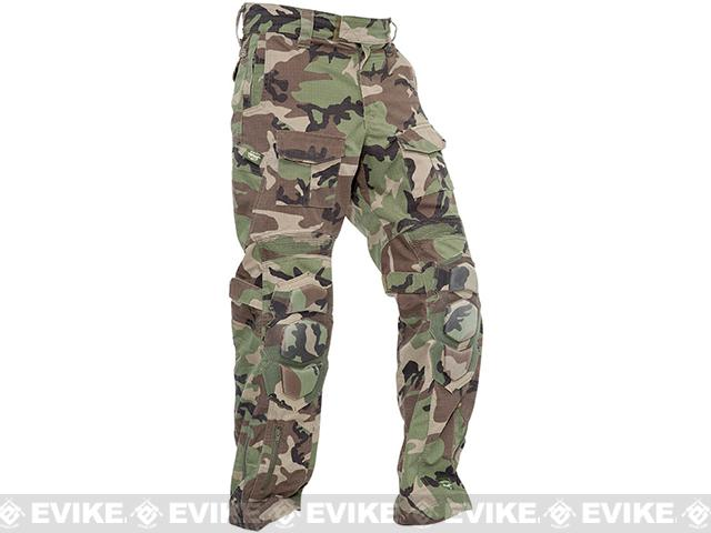 Valken Combat Tango Down Pants - Woodland (Size: Large)