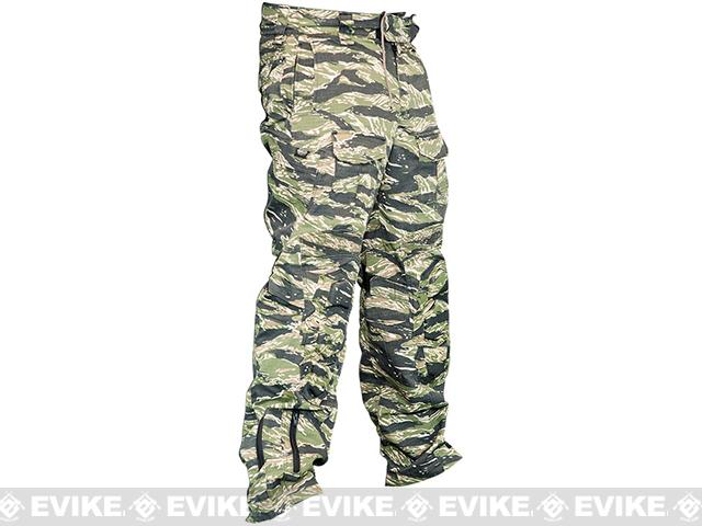Valken Combat Tango Down Pants - Tiger Stripe (Size: Large)