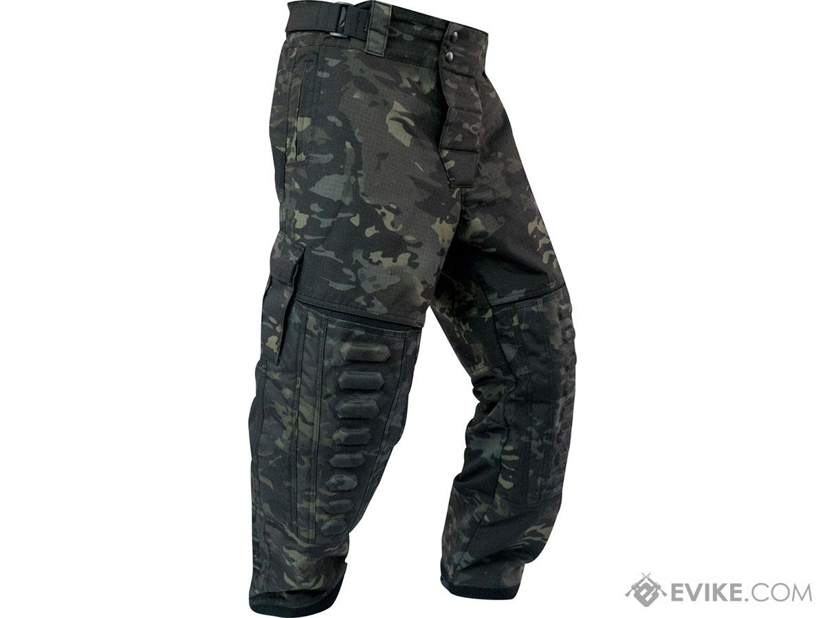 Valken Combat ZULU PRO Pants (Color: Black VCam / Large)