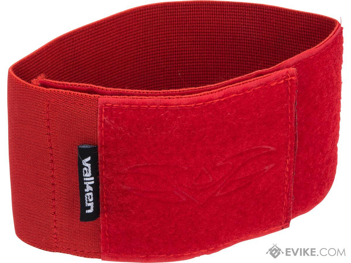 Valken V-TAC Player Team Armband w/ Large Patch Space (Color: Red)