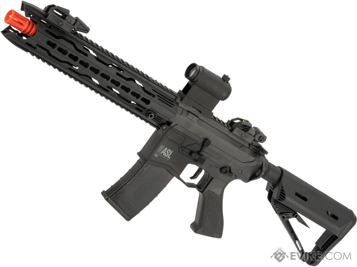 ASL Series Polymer M4 Airsoft AEG By Valken (Model: TRG / Black)