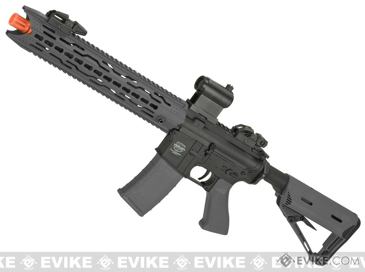 Battle Machine M4 TRG-L V2.0 Airsoft AEG Rifle by Valken (Color: Grey)