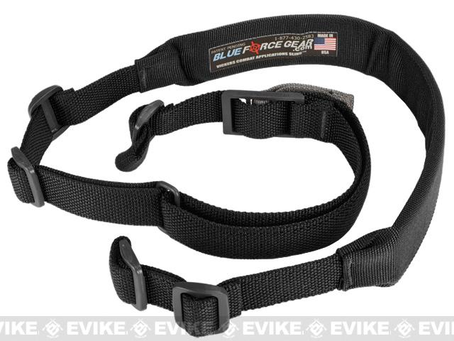 Blue Force Gear 2 Point Padded Vickers Combat Applications Sling™ (Color: Black)