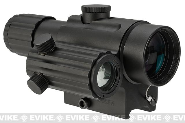 NcStar / VISM Dual Urban Optic (DUO Series) 4x32mm Scope w/ Offset Green Dot Sight - Black