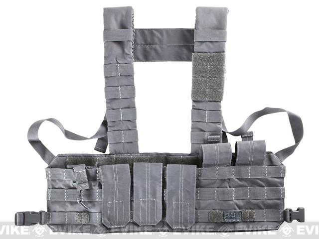 5.11 Tactical TacTec Chest Rig - Storm Grey